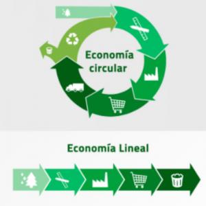 comparativa proceso economía lineal vs economía circular